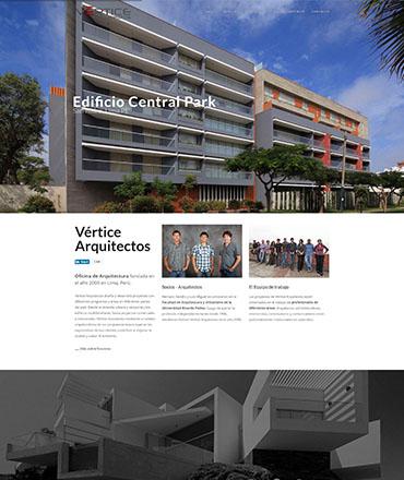 Vértice Arquitectos Oficina de Arquitectura en Perú