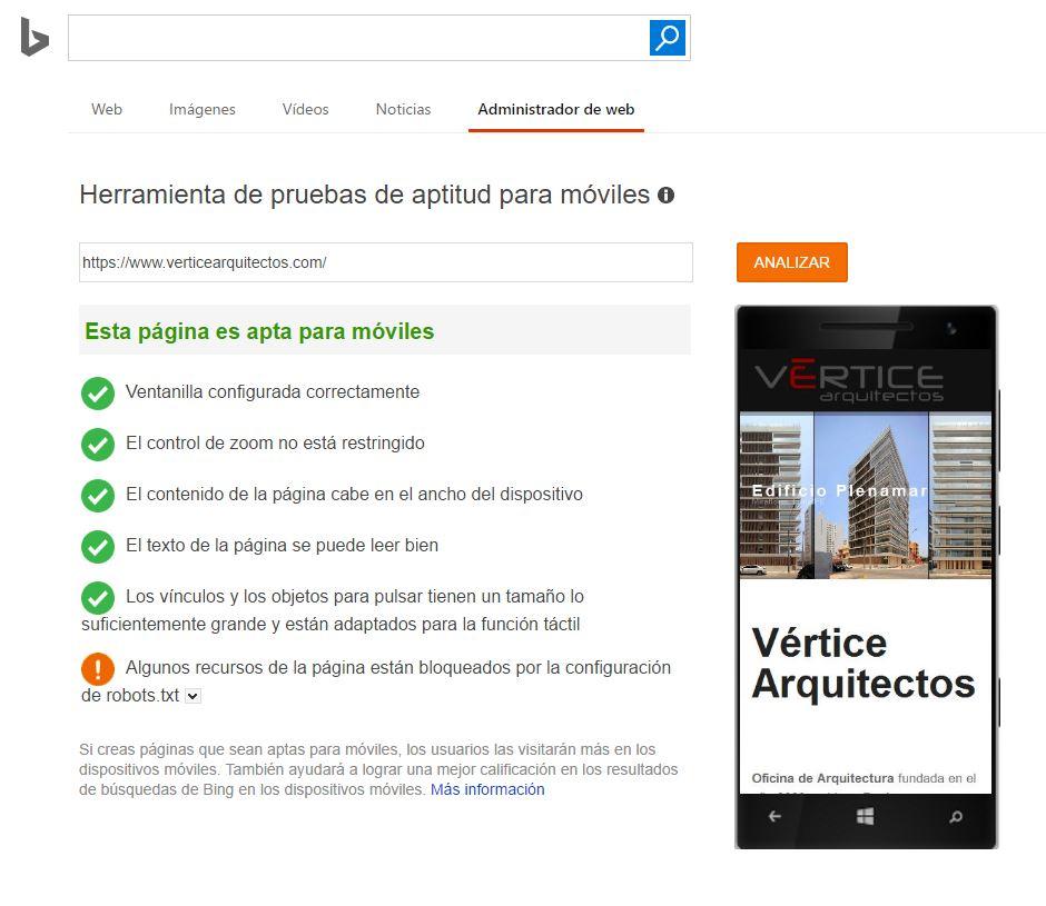 Bing movil