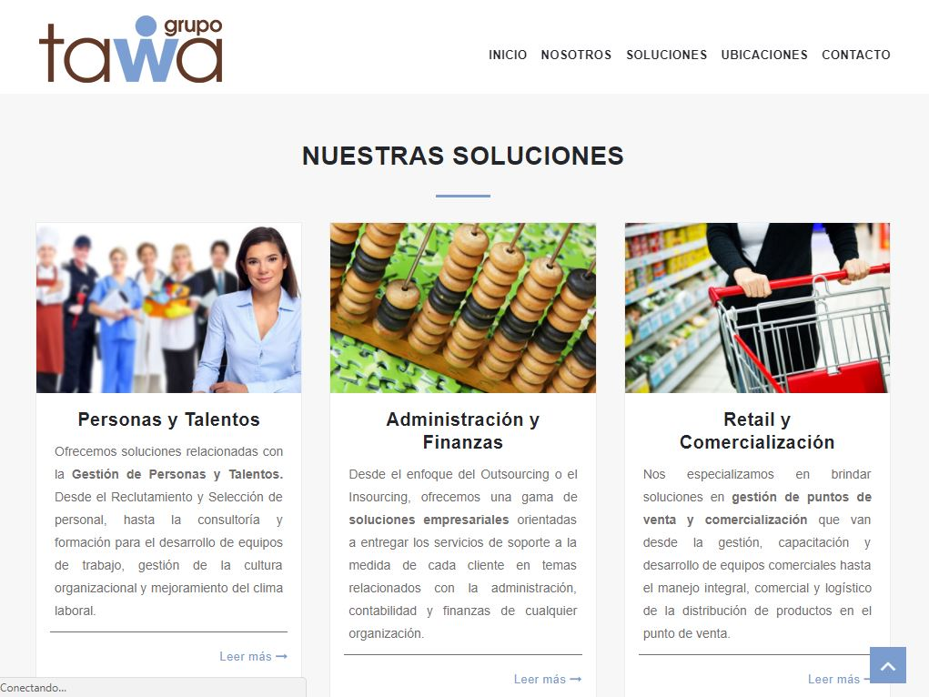 Outsourcing Digital Corporativo a Grupo Tawa en Perú
