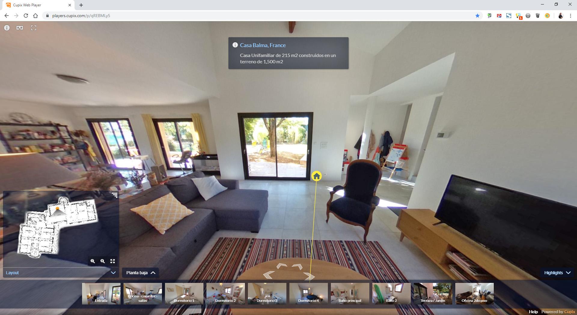 Tour 360 Y Realidad Virtual Vr De Casa En Balma Francia